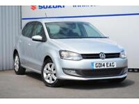 2014 Volkswagen Polo 1.2 Match Edition 5dr Petrol silver Manual