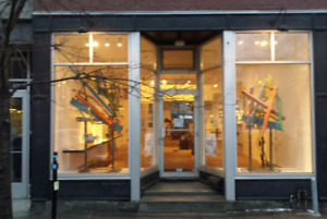 Store has a great location on 'The Main' in the Mile End.