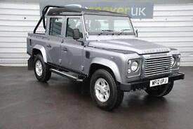 2012 Land Rover Defender XS Double Cab PickUp 2.2 leather air con side steps...