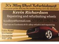 Ks customs alloy wheel refurbs and detailing