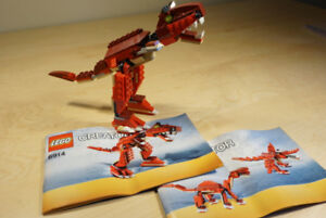 LEGO Le T-Rex - 6914 | Creator 3-en-1