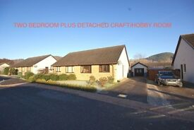 Drumnadrochit For Sale Bungalow with separate craft/hobby room conversion
