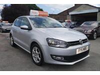 2011 11 Volkswagen Polo 1.2 ( 60ps ) Moda 60 5 DOOR 48K in SILVER