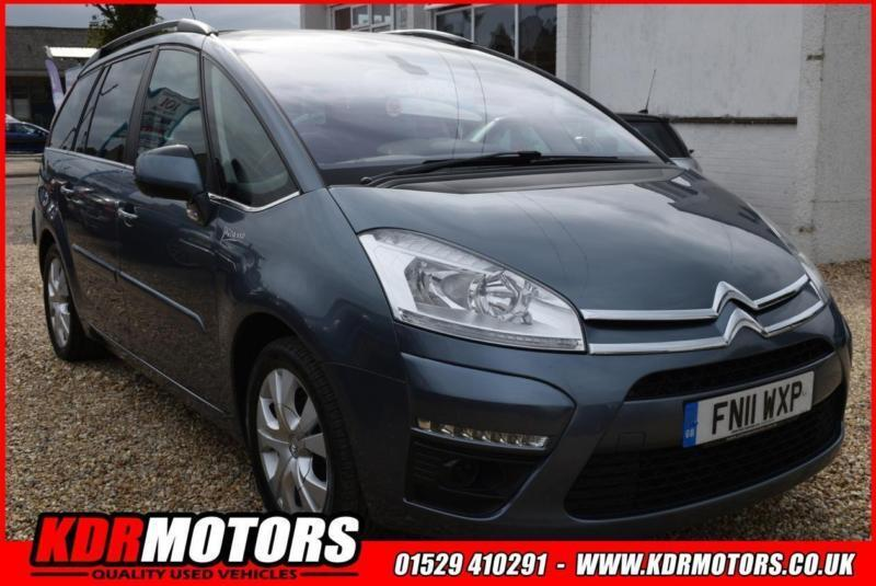 2011 citroen c4 picasso grand exclusive hdi egs 1 6 sold in sleaford lincolnshire gumtree. Black Bedroom Furniture Sets. Home Design Ideas