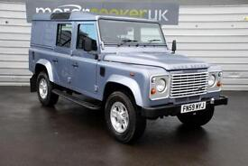 2010 Land Rover Defender 110 county utility 5 seater top spec stunning exampl...