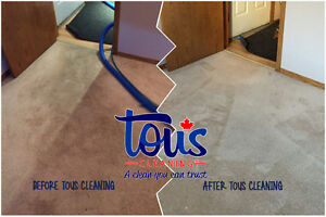 CARPET AND UPHOLSTERY CLEANING | Tous Cleaning Inc. Edmonton Edmonton Area image 5