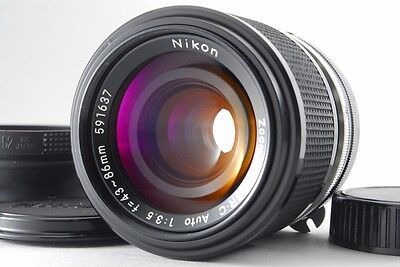 [Exc+++] Nikon Zoom-Nikkor.C Auto 43-86mm F/3.5 MF Lens From Japan #1213612