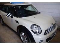 Mini Mini 1.6TD Sport Chili One D DIESEL WHITE 2013 ALLOY DAB RADIO TAX £0