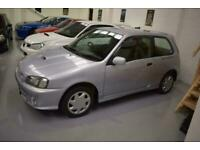 1999 Toyota Starlet Glanza V Turbo - 4452 Miles Hatchback Petrol Manual