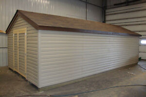 Sheds , horse shelters , cabins