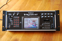Roland V-Synth XT + VC1 And VC2 expansions (Touchscreen synth)