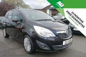 2011 VAUXHALL MERIVA 1.4 16v ( a/c ) Excite in Black LOW MILES