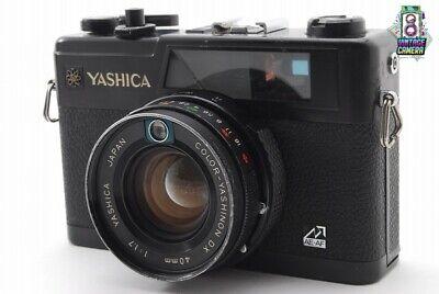 【EXC+++】 YASHICA ELECTRO 35GX AE 35MM RANGEFINDER YASHINON DX 40MM F1.7 LENS