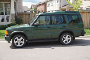 2000 Land Rover Discovery w/Leather SUV, Crossover
