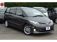 2011 Toyota Estima AERAS 2.4 PETROL TWIN SUNROOF PEARL GREY 59K MILES FSH ULEZ E