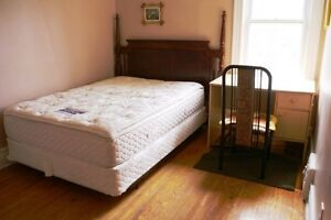 One 2nd-floor bedroom for rent since April 1st. All inclusive