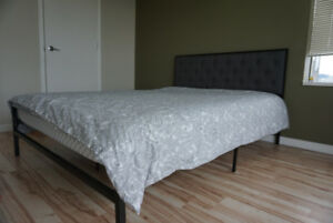 New queen bed frame
