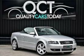Audi S4 4.2 V8 Cabriolet Quattro Manual Convertible *Nav Plus + Heated Seats*