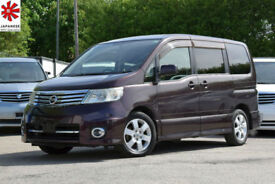 2007 (07) NISSAN SERENA 2.0 Automatic Highway Star 8 Seater MPV Aubergine Noah
