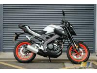 Yamaha MT 125 2019 Motorbike in Ice/Fluo Immaculate Condition.