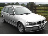BMW 320D 2.0TD auto 2002MY d SE Touring