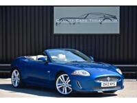 2012 Jaguar XKR 5.0 V8 Supercharged Convertible * Kyanite Blue + Ivory *