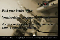 Vocal training/Singing lessons - 6 months