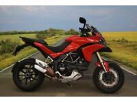 Ducati Multistrada 1200 **ABS, Adjustable Screen, Hand Guards**