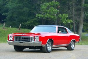 Wanted 1970-1972 Monte Carlo for Parts or Repair