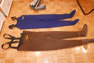 Cabelas Neoprene Chest Waders 5mm(Mens) and 3mm (Womens)