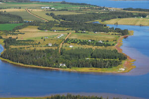 Birch Hill Waterfront Lot for sale west of Summerside PEI Canada