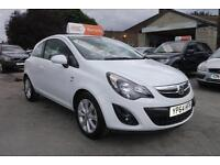 2014 64 VAUXHALL CORSA EXCITE 1.2i 16v VVT ( 85ps ) Excite LOW MILES in WHITE