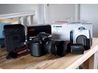 Canon 60D, Sigma 30mm F1.4, polarising filter, extra battery