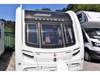 Coachman VIP 545, 2015, 4 berth, island bed, split central washroom luxury
