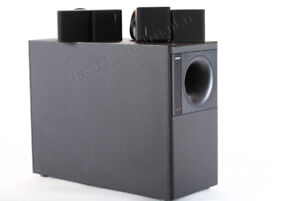 Speaker Bose Hi-Fi NAD Cambridge et Arcam