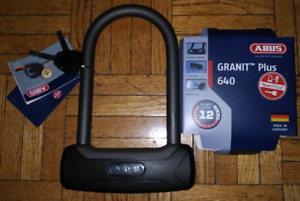 ABUS Granit 640 brand new bicycle lock