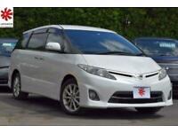 2010 Toyota Estima 2.4 VVTi Auto AERAS Pearl White Captain Seats UK DVD Radio FR