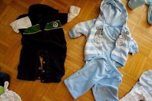 Garde-robe complète pour nouveau-né (0-6 mois) West Island Greater Montréal image 2