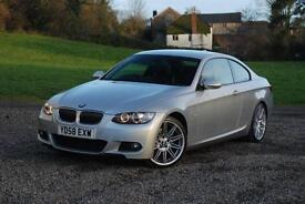 BMW 3 SERIES 325D M SPORT - BEAUTIFUL CONDITION, Silver, Auto, Diesel, 2008