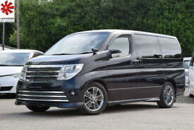 2007 (57) NISSAN ELGRAND RIDER 3.5 V6 Automatic Series 3 BLACK LEATHER EDITION