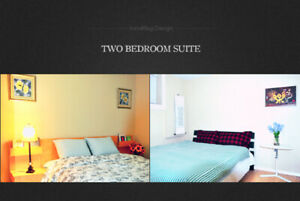 Two bedroom suite for SHORT-TERM (Till end of May)