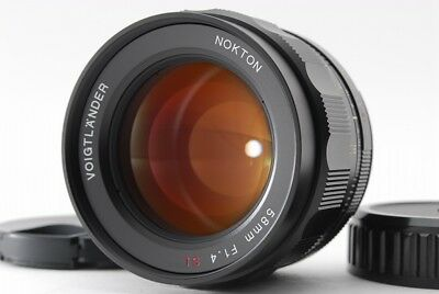【MINT】Voigtlander NOKTON 58mm f/1.4 SL ll N for Nikon Ai-s From Japan #216