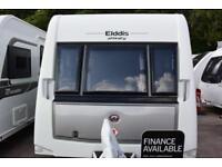 Elddis Affinity 574, 2014, 4 berth, twin beds, end washroom, alde heating