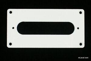 Humbucker-To-Singl-Coil-Adapter-Pickup-Ring-WHITE-B33