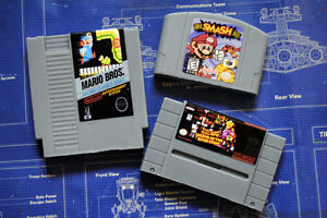 Buying Video Games:Nintendo,N64,Super Nintendo,Turbografx