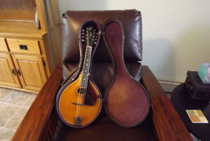 1918 Gibson A3 Mandolin With Original Case