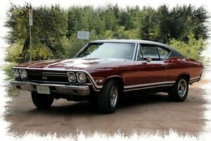 1968 Chevelle 396 SS 2 door Hard Top
