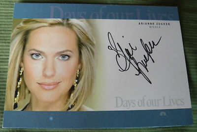 Days Of Our Lives Arianne Zucker  Nicole  Autograph