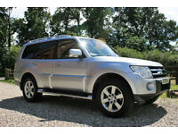 2009 MITSUBISHI SHOGUN ELEGANCE 3.2 DID LWB RALLIART WARRANTIED LOW MILEAGE FSH