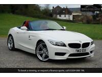 BMW Z4 SDRIVE30I M SPORT ROADSTER, White, Manual, Petrol, 2012, 15,500 miles